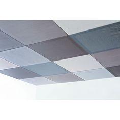 Dalle de plafond acoustique microperforée
