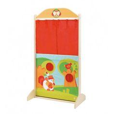 Fantocheiro de Madeira. Brincar e Aprender. Brinquedos Didácticos para Crianças. http://www.planetadidactico.com/home/125-fantocheiro-de-madeira.html