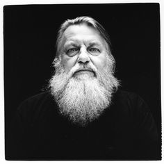 Robert Wyatt (1945) - English musician, and founding member of the influential Canterbury scene band Soft Machine. Photo by Renaud Monfourny
