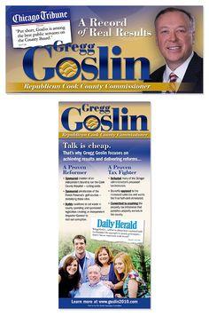 Greg Goslin, Cook County Commissioner