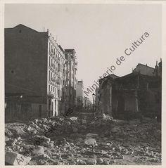 Calle Altamirano esquina Tutor.1936/1937