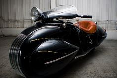 1930 Henderson Custom (this kind of thing is the reason there is Deisel punk)