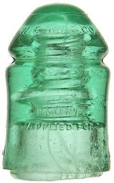 Antique Glass, Rare Antique, Glass Insulators, Telephone, Strands, Swirls, Insulation, Bottles, Milk