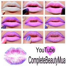 Cotton Candy SugarLips ♥ http://www.makeupbee.com/look.php?look_id=55526