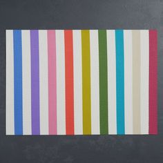 kate spade new york Candy Stripe Placemat