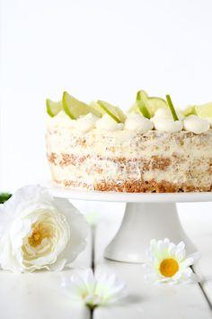 Suklaapossu: Lime-valkosuklaa-nakukakku, liivatteeton