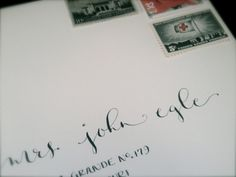 Wedding Envelope Calligraphy Addressing