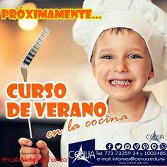 Curso de verano en la cocina Summer CENUA para niños