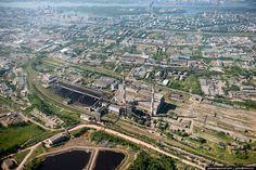 Красноярск и красноярские «Столбы» с высоты - Gelio (Степанов Слава)