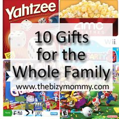 10 gift ideas for the whole family