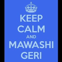 Just to let you know, mawashi means circular and geri means kick in Japanese. =)