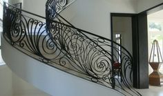 contemporary wrought iron railing - Eclectic - dallas - by Potter ...