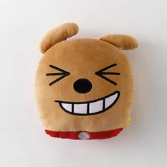 Korea Kakao Talk Friends Character Face Cushion Pillow 38cm 15in Frodo #KakaoFriends