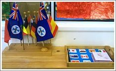 Flag Montessori Geography Activity- Kid World Citizen...