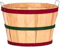 Texas Basket Company - fruit and vegetable baskets and lids, handmade and special shape  baskets, displays, crates, tin banks and containers, beautiful wood displays, and more