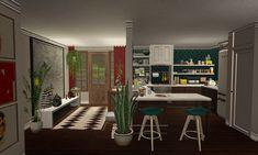 Erin's Sims 2 Simblr Cottages And Bungalows, Sims 2, Desk, Table, Blog, Furniture, Home Decor, Desktop, Decoration Home