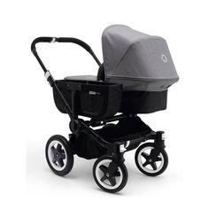All black - grey bugaboo donkey