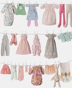 Image of Bunny clothing, medium *NEW