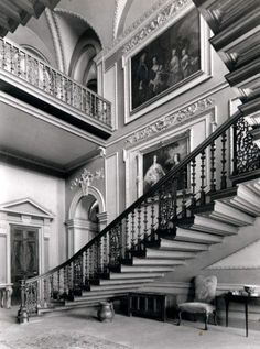 BENINGBROUGH, the Staircase Hall