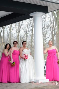 {Real Plus Size Wedding} Intimate NY Affair with DIY Table Numbers - The Pretty Pear Bride - Plus Size Bridal Magazine Happy Wedding Day, Wedding Wishes, Dream Wedding, Plus Size Wedding Gowns, Wedding Dresses Plus Size, Plus Size Bridesmaid, Brides And Bridesmaids, Curvy Inspiration, Wedding Inspiration
