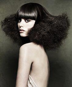 that hair.