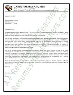 84 Best Teacher And Principal Cover Letter Samples Images In