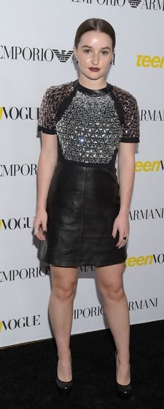Kaitlyn Dever Kaitlyn Dever, Last Man Standing, Leather Skirt, Actresses, Fashion, Female Actresses, Moda, Leather Skirts, Fashion Styles