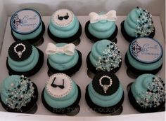 """I'm thinking """"Breakfast at Tiffany's"""" and Audrey Hepburn: perfect theme for a bridal shower/luncheon!! :)"""