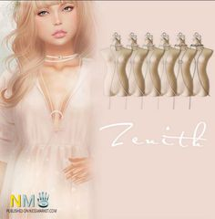 Zenith Fashion Belted Necklace Second Life Gift