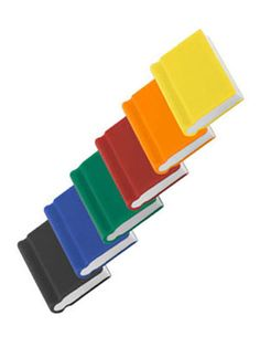 tiny book erasers