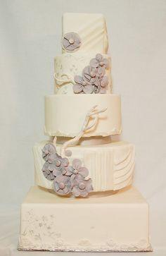 Beige Forest Cake