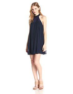 BCBGeneration Women's High Neck Dress with Pleats, Navy, Small BCBGeneration http://www.amazon.com/dp/B00QLPN19U/ref=cm_sw_r_pi_dp_OPs5ub0DSRMN8