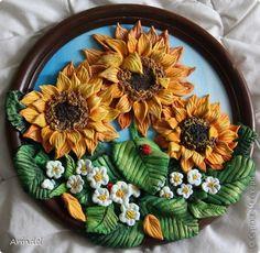 Картина панно рисунок Лепка Мои летние соления  Тесто соленое фото 12