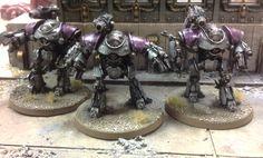 Legion bonded Castella battle automata.