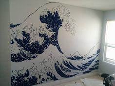 Znalezione obrazy dla zapytania great wave japanese