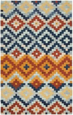 At Rugs USA Safavieh Chelsea HK726A Multi Rug Home decor, interior design, style, create, inspire, southerwestern, modern, area rugs, house, home, design, decorate.