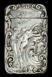 Серебряные спичечницы конца XIX - начала ХХ века