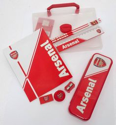 1a6d232e4708c Official Arsenal FC Carry Case Stationary Gift Set for sale online
