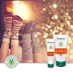 Himalaya Herbals - kosmetyki do pielęgnacji stóp (krem + peeling)