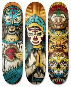 Chris Parks - Pale Horse Design Skate Decks