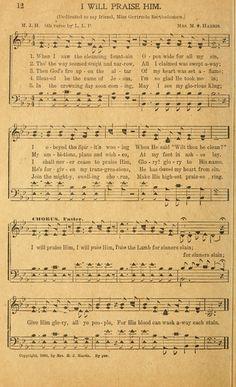 Bible Songs, Praise Songs, Worship Songs, Bible Verses, Old Sheet Music, Music Sheets, Gospel Song Lyrics, Music Lyrics, Famous Country Singers