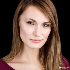 headshot session with Kristina