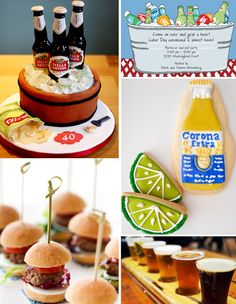 Beer tasting birthday party! This is a great idea for your hubby/ the man in your life! I'm thinking of something like this for Kyle's 30th!
