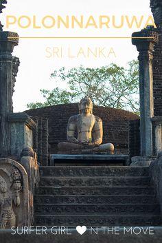 Viaje comigo pelos templos e monumentos de Polonnaruwa, antiga capital do Sri Lanka, considerada aos dias de hoje Património da Humanidade.