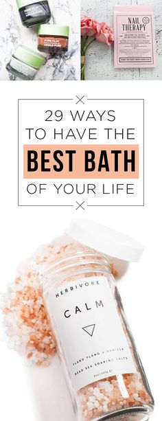 Ways To Have The Best Bath Of Your Life Bathe with these products and emerge a completely new (more moisturized) person.Bathe with these products and emerge a completely new (more moisturized) person. Bath Body Works, The Body Shop, Sephora, Eye Makeup, Back In The Game, Hair Rinse, Beauty Case, Beauty Tips, Relaxing Bath