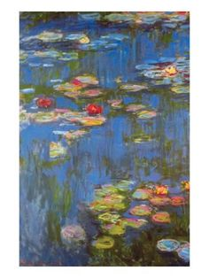 Water Lilies No. 3 Prints by Claude Monet - at AllPosters.com.au