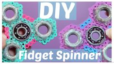 DIY Perler Bead (Hama Bead) Fidget Spinner Part 2!!