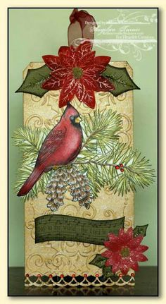 Heartfelt Creations Christmas Tag