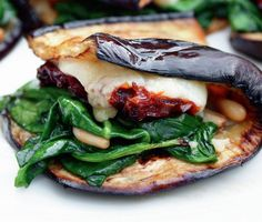 Eggplant Wraps | Recipes from Mary McCartney's Food: Vegetarian Home Cooking