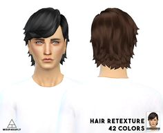 MISSPARAPLY : Hair retexture - EA LongEarTucked.